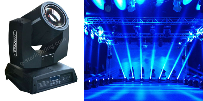 Moving Head Light 200w 5r Moving Head Light G