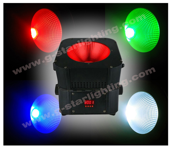 30W COB Battery wireless DMX Led Par Light