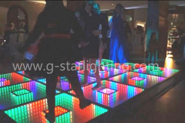 Led dance floor full color 3d infinity mirror led dance floor - G ...