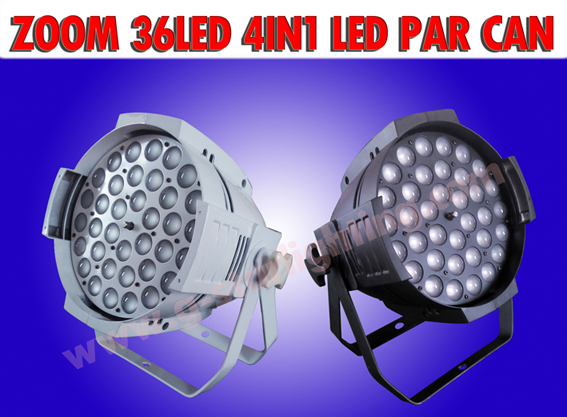 ZOOM 36*10W 4IN1 LED PAR CAN
