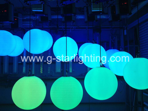 colorful led lifting ball light